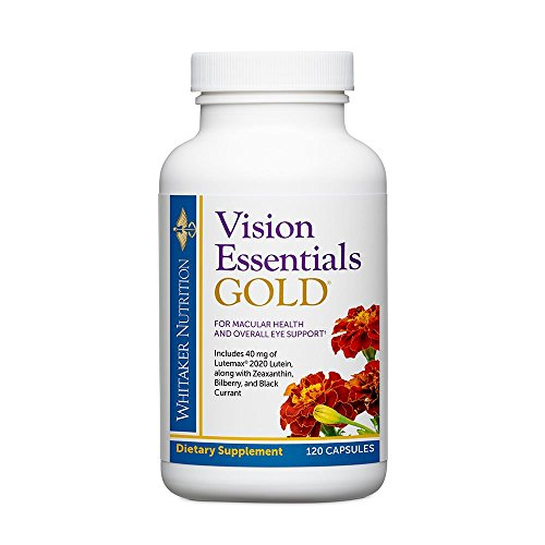 Dr. Whitaker's Vision Essentials Gold – Eye Health Supplement with 40 mg of Lutein Plus Vitamin A & Zeaxanthin – Supports Macular Health and Shields Eyes Against Blue Light Exposure (120 Capsules) Review