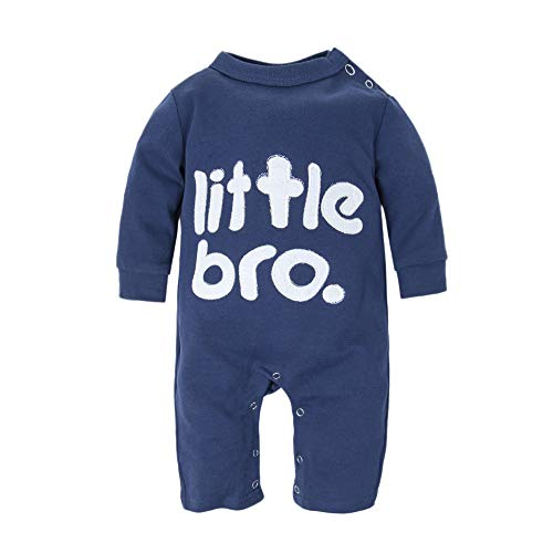 BIG ELEPHANT Baby Boys' 1 Piece Long Sleeve Romper Pajama Clothes H12