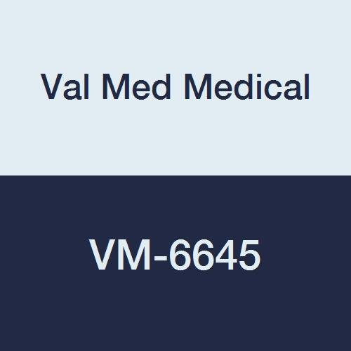 Val Med Medical VM-6645 Comfort Plus Transfer Belt, Natural Cotton, Navy Pinstripe, White, 45'' Length (Pack of 36)