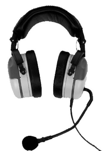 - Telex PH200R, Dual-Sided Full Cushion Medium Weight Noise Reduction Headset, A4M Connector