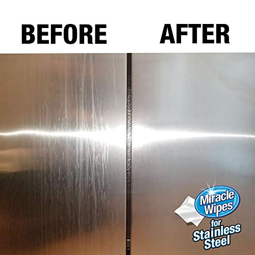 MiracleWipes for Stainless Steel (30 Count)