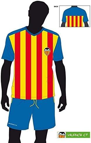 FUTBOL Pijama Verano Valencia CF niño Senyera - 6: Amazon.es ...