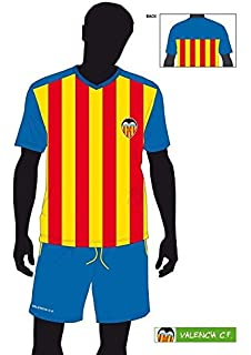FUTBOL Pijama Verano Valencia CF niño Senyera - 6