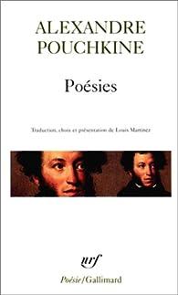Poésies par Alexandre Pouchkine