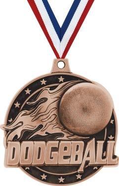 クラウンAwards Dodgeball Medals – 2