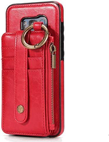 Samsung Galaxy S10 Plus プラス PUレザー ケース, 手帳型 ケース 本革 全面保護 ビジネス カバー収納 スマホケース 財布 手帳型ケース Samsung Galaxy サムスン ギャラクシー S10 Plus プラス レザーケース