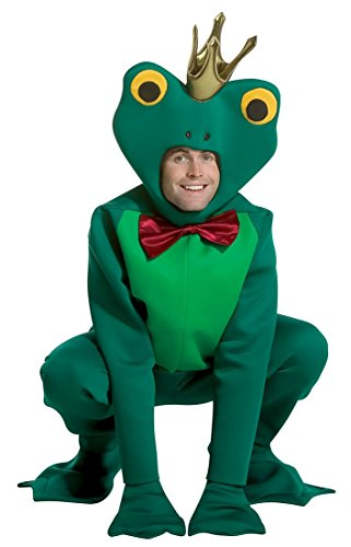 [Frog Prince Costume - One Size - Chest Size 42-48] (Prince Frog Costumes)