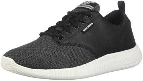 Charge Trahan White Depth Skechers Fashion Sneaker Men's Black 7wSEWtqTO