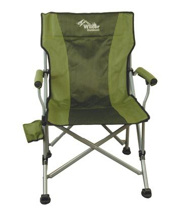 Gentil Wilcor Deluxe Straight Back Chair With Carrying Case