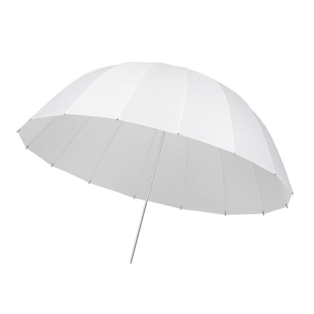 Photo Studio reflector diffuser kit 42 Inches Photography Umbrella Lighting Kit Continuous Reflector Lights White Translucent Soft Umbrella For Photo Portrait ( Color : White , Size : 42 inches ) by Zxcvlina
