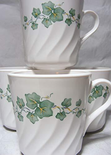 Corning Corelle Callaway Ivy Mugs - Four (4) Mugs