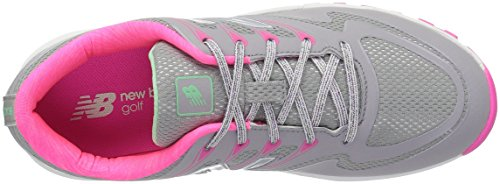 Pictures of New Balance Women's NBGW1006 Golf Shoe Green/Natural 2