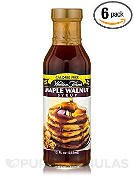WALDEN FARMS, SYRUP, MAPLE WALNUT - Pack of 6 Maple Walnut