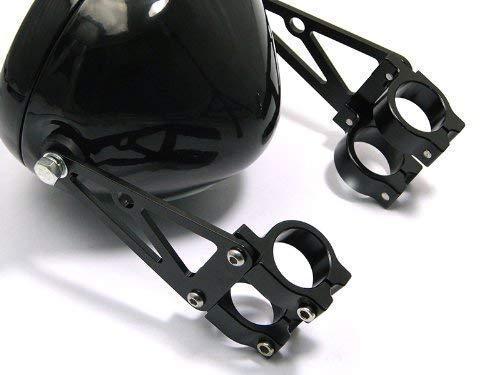Moto Phare Supports ou Fourche Pinces 54-55mm Diam/ètre Usin/é CNC Haute Qualit/é