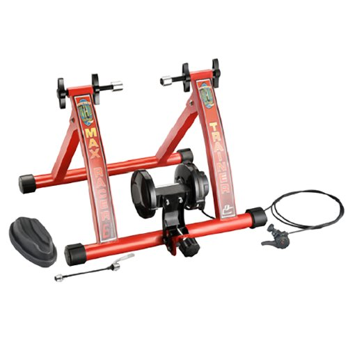 1113 RAD Cycle Products Max Racer 7 Levels of Resistance Portable Bicycle Trainer Work Out Machine (Trainer Bike)