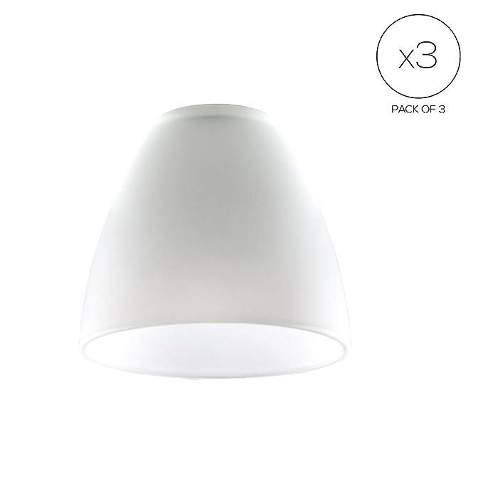 lámparade elegante de pantallas repuesto MiniSun Set cristal 3 de para forma satinado y b6f7Yvgy