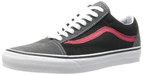 Vans U OLD SKOOL (SUEDE/CANVAS)C - Zapatillas de cuero unisex Gris (Gris (Suede/Canvasc))