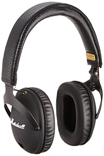 Marshall Headphones - Marshall Monitor Headphones Black/Gold