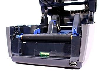Intermec PC43T Thermal Desktop Label Printer LCD Display W/ Real Time Clock USB Network 203DPI 128MB, PC43TA0010020