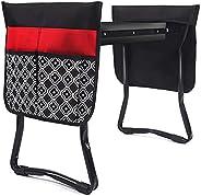 Joelheira de jardim e banco de assento, assento dobrável de jardim com 2 sacos, Joelheira de jardim com almofa