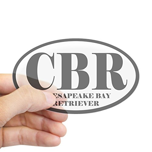 Chesapeake Bay Retriever Sticker - CafePress CBR Abbreviation Chesapeake Bay Retriever Sticker Oval Bumper Sticker, Euro Oval Car Decal