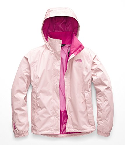 The North Face NF0A35DM Women's PR Resolve Jacket, Purdy Pink/Raspberry Rose - S
