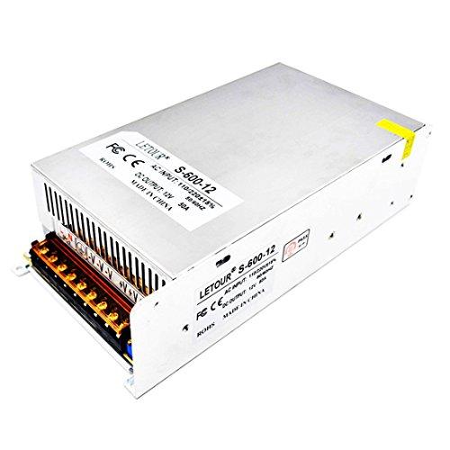 Letour LED Power Supply 12V 50A AC 96V-2 - 50a Dc Power Supply Shopping Results