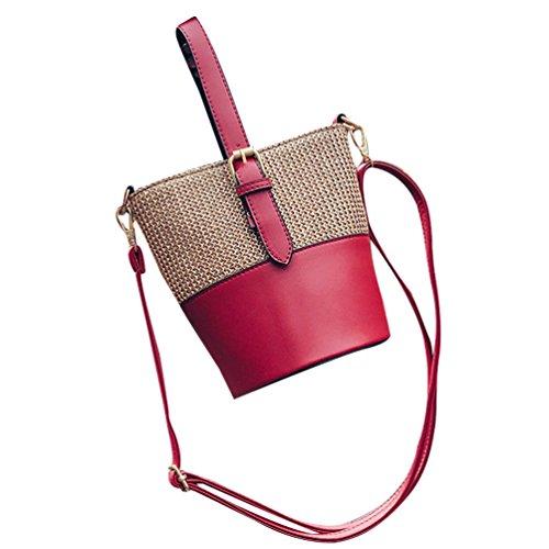 Borsa Per Donne Dexinx Rosso Esterno Basket Shopping Tessuto Immagazzinaggio Tracolla Friendly Eco Computer Di Portatile Estate Del A Lo FwZ5q5p1