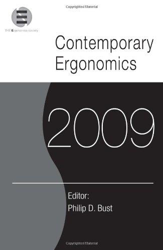 Contemporary Ergonomics 2009: Proceedings of the International Conference on Contemporary Ergonomics 2009