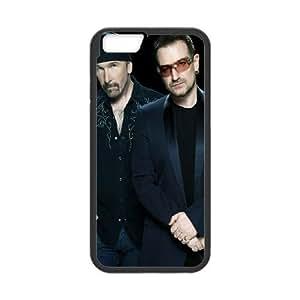 U2 iPhone 6 4.7 Inch Cell Phone Case Black