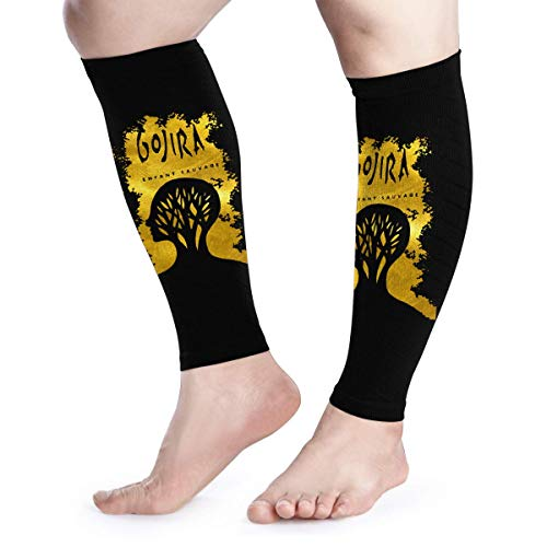Calf Compression Sleeves Gojira L'enfant Sauvage Leg Support Socks for Women Men 1 Pair