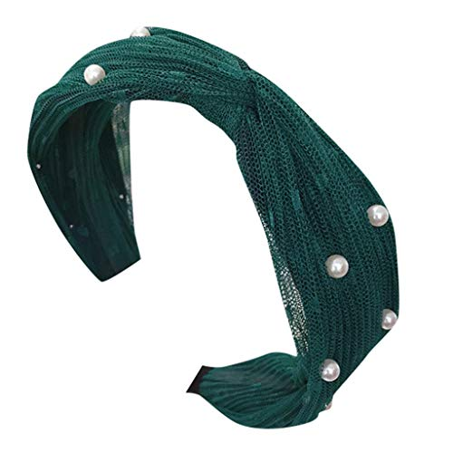 hositor Headbands for Women, Women's Crystal Headband Fabric Hairband Head Wrap Hair Band Accessories