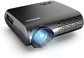 Vidéoprojecteur, WiMiUS 7000 Vidéo Projecteur Full HD 1920x1080P Natif Rétroprojecteur Supporte 4K Audio AC3 avec Réglage...