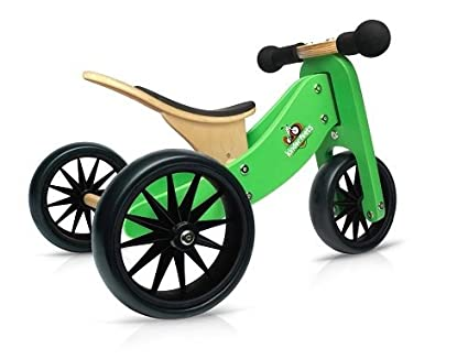 amazon com kinderfeets tinytot wooden balance bike and tricycle in rh amazon com Wooden Pedal Cycle Square Wooden Balance Bike Tires