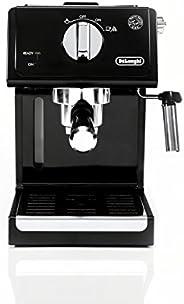 De'Longhi ECP3120 15 Bar Espresso Machine with Advanced Cappuccino System, 9.6 x 7.2 x 11.9 Inches, Black/