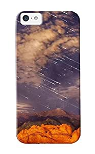 meilinF000New Arrival Case Cover Iixfbw-3102-tevbdxi With Design For iphone 5/5s- Meteor Shower Over Pikes Peak Best Gift Choice For LoversmeilinF000