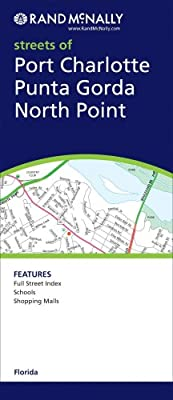 Map Of Punta Gorda Florida.Rand Mcnally Streets Of Port Charlotte Punta Gorda Rand Mcnally