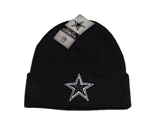 NFL Authentic Apparel Dallas Cowboys Basic Knit/Beanie Navy Blue!!