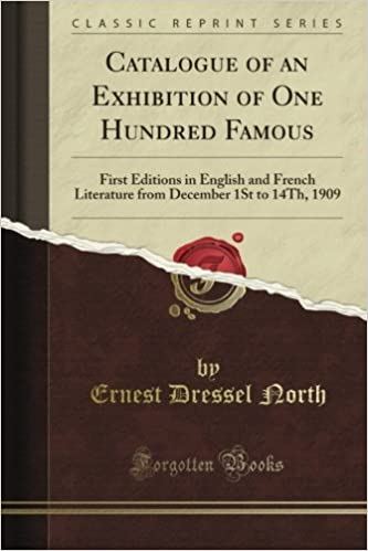 Buy Catalogue Of An Exhibition Of One Hundred Famous First Editions