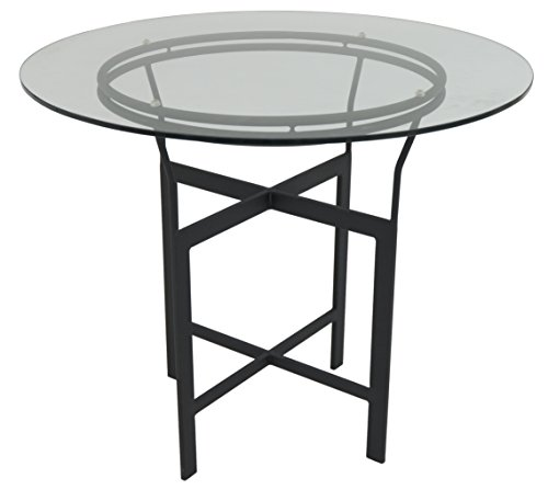 impacterra-a72-dg-bar-table-30-matte-black-clear-glass