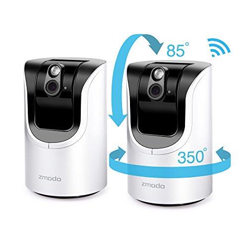 Zmodo Pan Tilt 720p HD WiFi Wireless IP Network Smart Home V