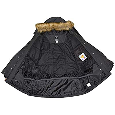 Pulse Women's Plus Size Extended Insulated Ski Parka Societe Coat: Clothing