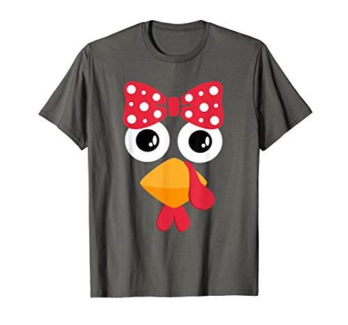 Turkey Face Trot T Shirt Thanksgiving Running Gift