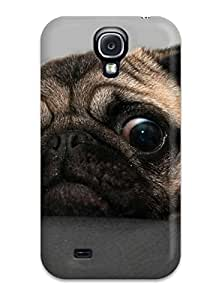 Hot New Arrival Galaxy S4 Case Crazy Pug Case Cover