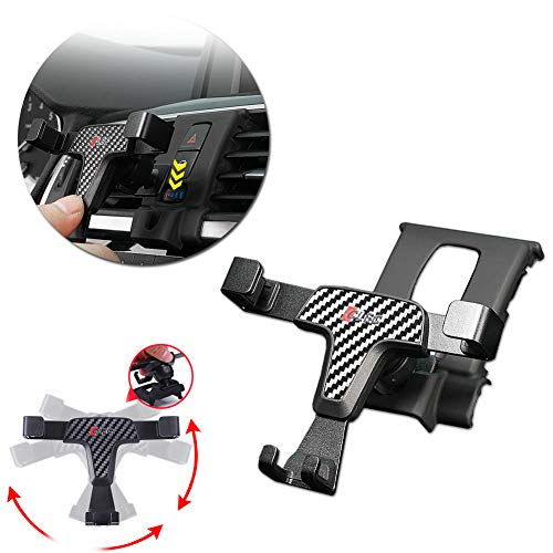 GTINTHEBOX Smartphone Cell Phone Mount Holder with Adjustable Air Vent Clip Cover for 2017 2018 BMW 3-Series 318i 320i 328d 330e 330i 340i xDrive (3.5-6.0 Inches Phone)