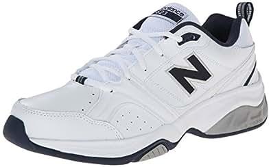 New Balance Men's MX623v2 Cross Training Shoe,White/Navy,19 D US