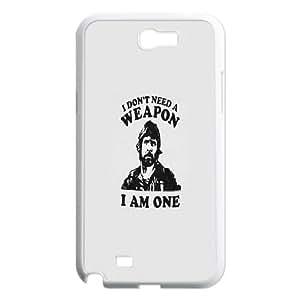 Samsung Galaxy N2 7100 Cell Phone Case White Chuck Norris SLI_746797