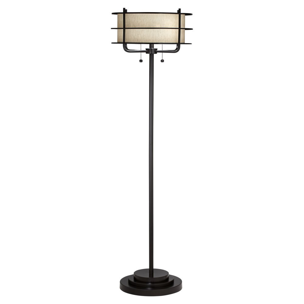 Kathy Ireland by Pacific Coast Ovation Floor Lamp in Bronze by Kathy Ireland