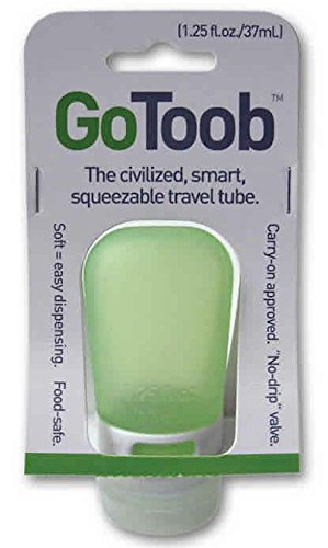 - Go Toob Small Travel Tube – 1.25 Oz. - Lime Green