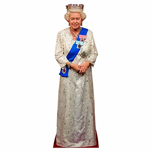 Wet Paint Printing + Design H65077 Queen Elizabeth II Cardboard -